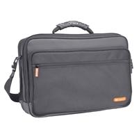 Samsill Microsoft Optima Portfolio Notebook Bag Fits Screens up to 15.4 - Black