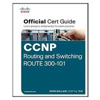 Pearson/Macmillan Books CCNP Routing and Switching ROUTE 300-101 Official Cert Guide, 1st Edition