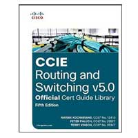 Pearson/Macmillan Books CCIE Routing and Switching v5.0 Official Cert Guide Library, 5th Edition