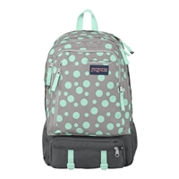 Jansport Envoy Laptop Backpack - Gray Rabbit Sylvia Dot