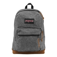 Jansport Right Pack Digital Edition Laptop Backpack - Gray Houndtooth Check