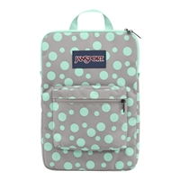 Jansport Superbreak Laptop Sleeve - Gray Rabbit Sylvia Dot