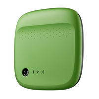 "Seagate Wireless Mobile Storage 500GB USB 2.0 2.5"" WiFi Portable Drive STDC500401 - Green"