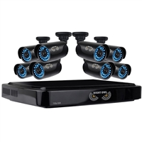 Night Owl 16 Channel AHD DVR with 1TB & 8 720p Cameras