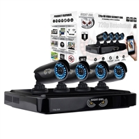 Night Owl 8 Channel Digital Video Recorder (DVR) and 4 Cameras with 1TB Hard Drive
