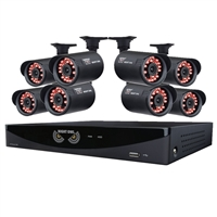 Night Owl 16 Channel Video Security Kit with 1TB HDD and 8 Hi-Resolution Indoor/Outdoor Cameras
