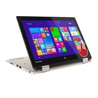 "Toshiba Satellite Radius 11 L15W-B1120 11.6"" Laptop Computer - Fusion Finish in Satin Gold"