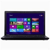 "Toshiba Satellite C75-B7180 17.3"" Laptop Computer - Textured Resin in Jet Black"