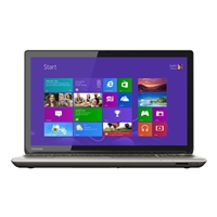 "Toshiba Satellite P55-B5162 15.6"" Laptop Computer - Brushed Aluminum in Satin Gold"