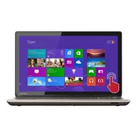 "Toshiba Satellite P55T-B5154 15.6"" Laptop Computer - Brushed Aluminum in Satin Gold"