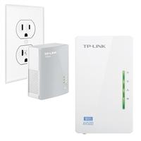 TP-LINK Wi-Fi Range Extender, AV500 Powerline Edition 300Mbps