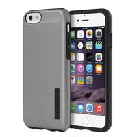 Incipio Technologies DualPro SHINE for iPhone 6 - Gunmetal/Black