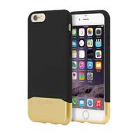 Incipio Technologies EDGE Chrome for iPhone 6 - Black/Gold