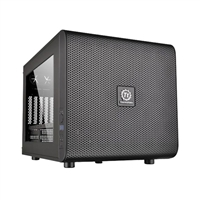 Thermaltake Core V21 mATX Mini-Tower Computer Case - Black