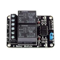SainSmart 2-CH OMRON Relay Module 5V