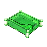 SainSmart Clear Acrylic Box Enclosure Gloss Transparent Case Box for Arduino UNO R3 - Green