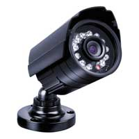 WinBook Security 3.6mm CMOS 700TV Lines Indoor/Outdoor Security Bullet Camera with 65ft Night Vision
