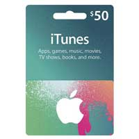 Apple iTunes Gift Card - $50