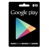 InComm Google Play Gift Card - $10