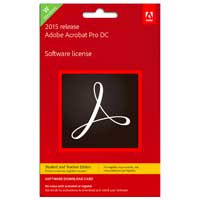 Adobe Acrobat Professional 12 Windows Card Student / Teacher Edition