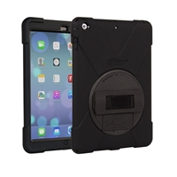 The Joy Factory aXtion Bold P-Series Case with Hand Strap and Stand for iPad Air - Black