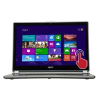 "Acer Aspire V7-482PG-5642 14"" Touchscreen Ultrabook - Cool Steel"