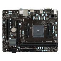 MSI A68HM-E33 FM2 mATX AMD Motherboard