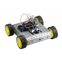 SainSmart Mega 2560 4WD Mobile Car Robot Kit For Arduino