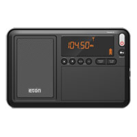 Eton Traveler III AM/FM/LW/SW Radio with Automatic Tuning Storage (ATS)