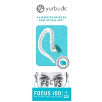 Yurbuds Focus 100 Earbuds for Women - Aqua