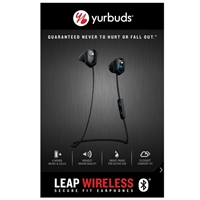 Yurbuds Leap Wireless Earbuds - Black