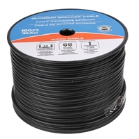JDI Tech 100ft. Heavy Duty Indoor Speaker Cable (10-Gauge, 2-Conductor)