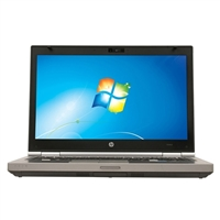 "HP EliteBook 8460P Windows 7 Professional 14"" Laptop Computer Refurbished - Silver"