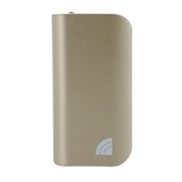 Inland 5,200mAh Power Bank Battery Charger & LED Flashlight for Mobile Devices - Gold