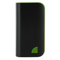 Inland 5,200mAh Power Bank Battery Charger & LED Flashlight for Mobile Devices -  Black & Green