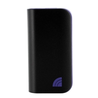 Inland 5200mAh Power Bank & LED Flashlight - Purple