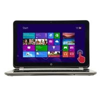 "HP Pavilion Touchsmart 17-f061us 17.3"" Laptop Computer Refurbished - Natural Silver"