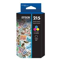 Epson 215 Black and Color Ink Cartridge Combo Pack