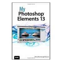 Pearson/Macmillan Books My Photoshop Elements 13, 1st Edition