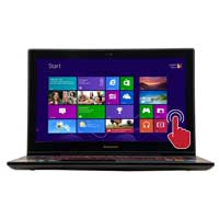"Lenovo Y50 UHD Touch 15.6"" Laptop Computer - Black"