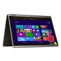 "Acer Aspire R3-471T-53LA Touch 14"" Laptop Computer - Silver"