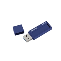 Toshiba TransMemory 64GB USB 3.0 Flash Drive Blue