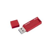 Toshiba TransMemory 64GB USB 3.0 Flash Drive PFU064U-1BLR
