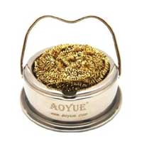Aoyue Solder Iron Tip Cleaner with Brass Coils