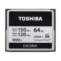 Toshiba 64GB 1000x Compact Flash Memory Card