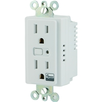 GE On/Off Duplex Receptacle In Wall