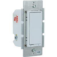 GE Z Wave On/Off Switch In Wall Paddle Almond/White 300S