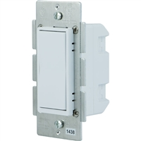 GE In Wall Auxiliary Switch 3 Way Almond/White Paddles 300S