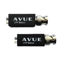 Avue Single Channel Passive Video Balun 2pcs