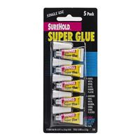 SureHold Super Glue Single Use - 5 Pack